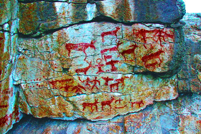 GIS «Rock art of Siberia»